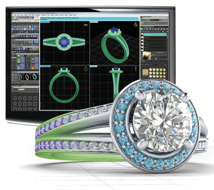 Solus Gemvision Cambodia Or Sovann 3D Jewelry